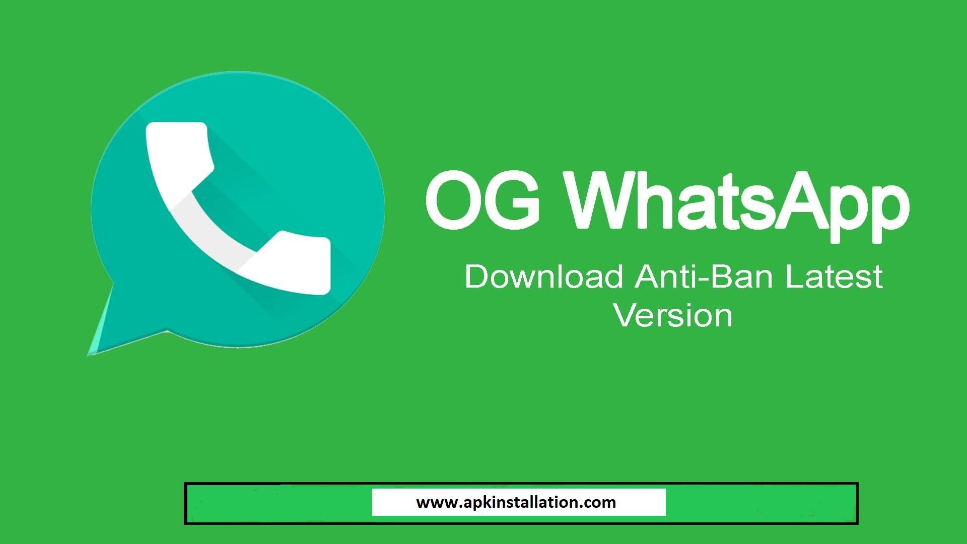 Whatsapp og OGWhatsApp APK