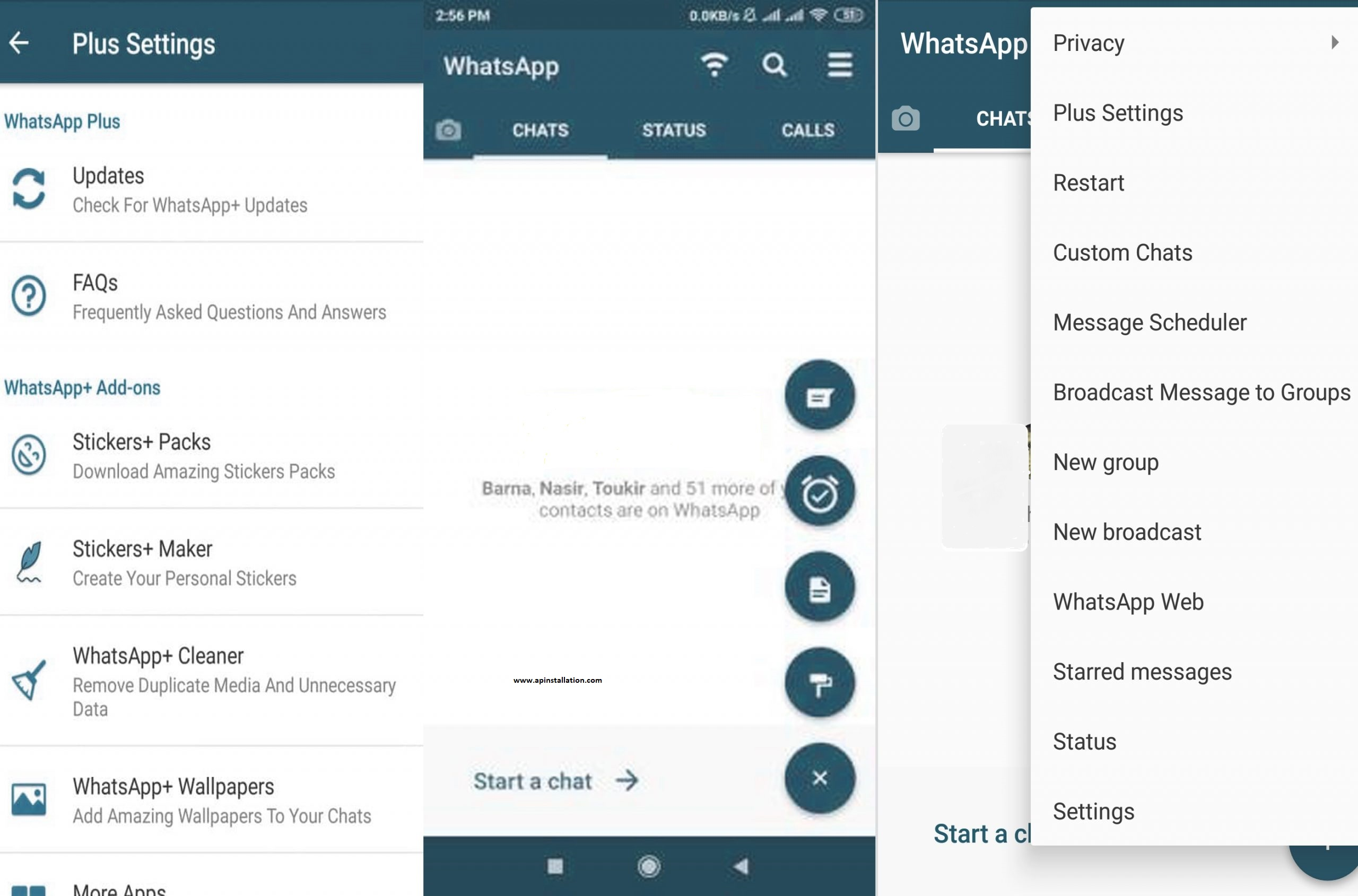 WHATSAPP PLUS MODDED APK