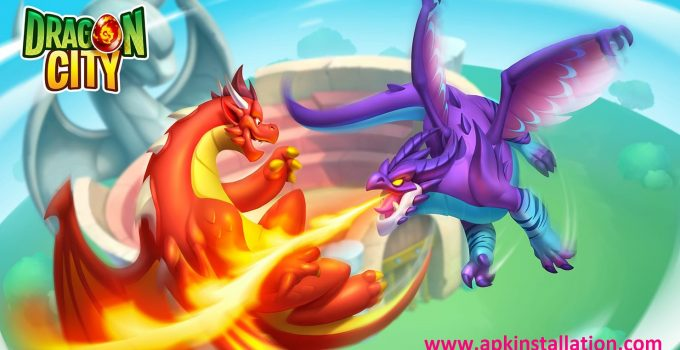 DRAGON CITY GAME MODDED APK FREE DOWNLOAD