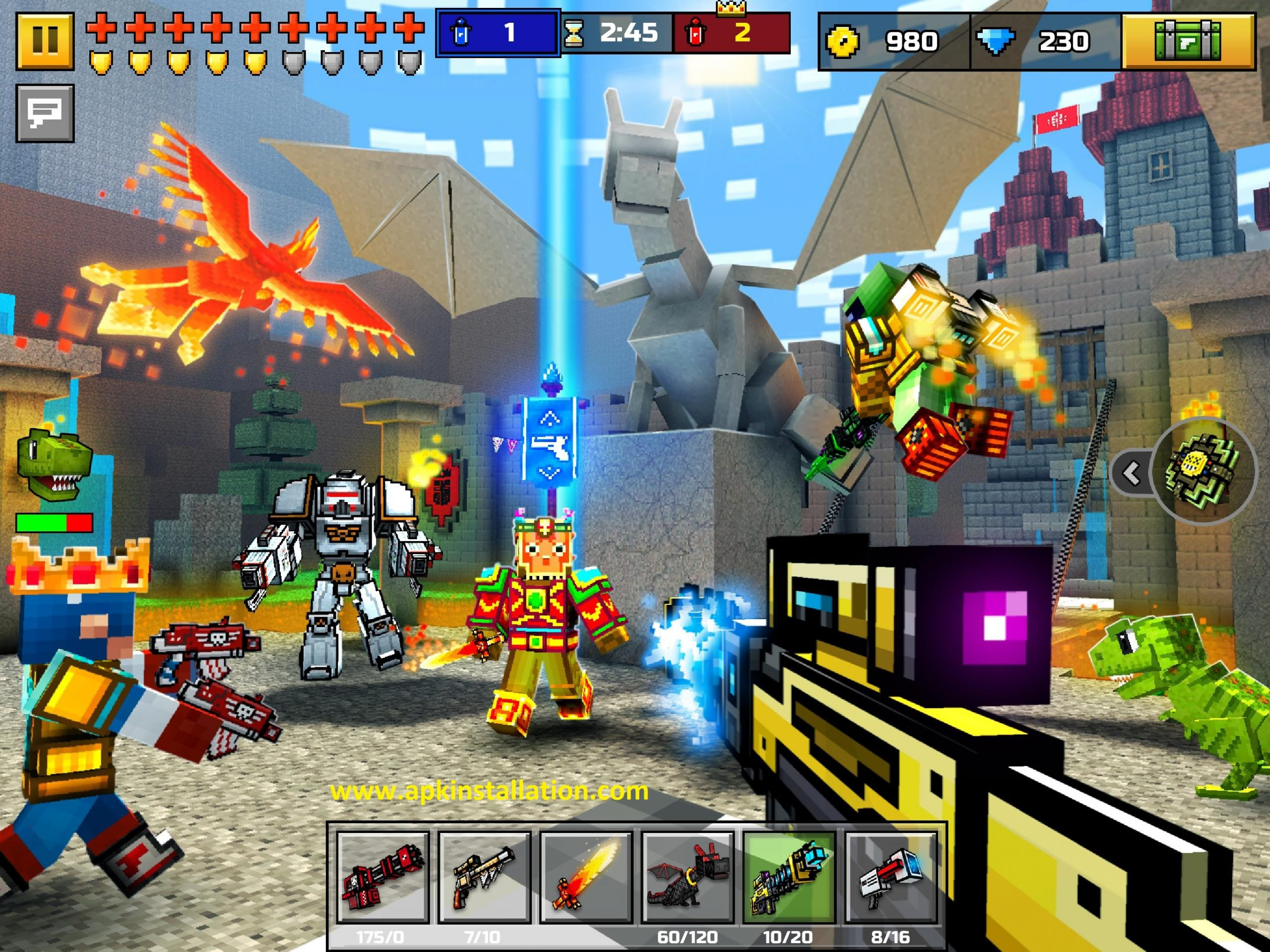 PIXEL GUN 3D GAME FREE DOWNLOAD