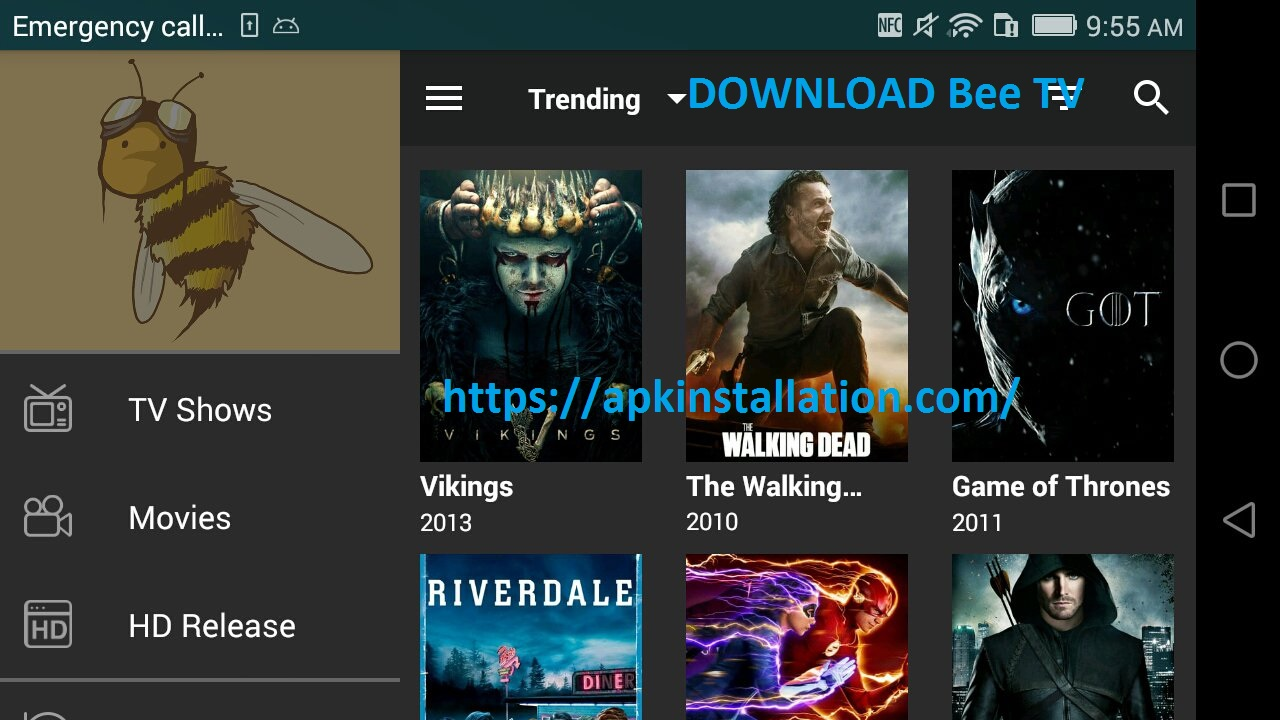 Download Bee TV APK