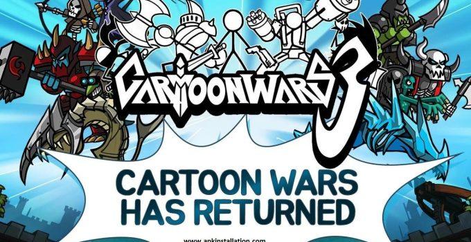 cartoon wars 3 mod APK